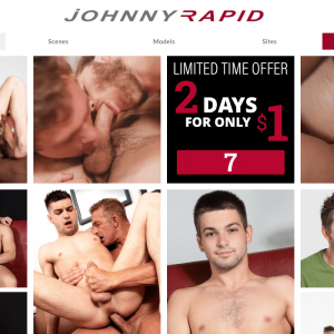 Johnnyrapid - Premium Gay Porn Sites