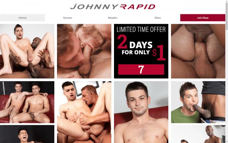 Johnnyrapid - Premium Gay Porn Sites
