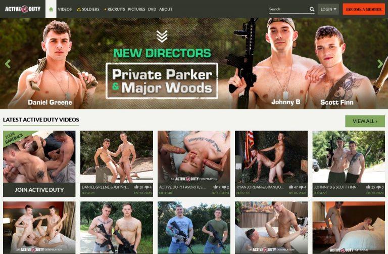 ActiveDuty - Premium Gay Porn Sites