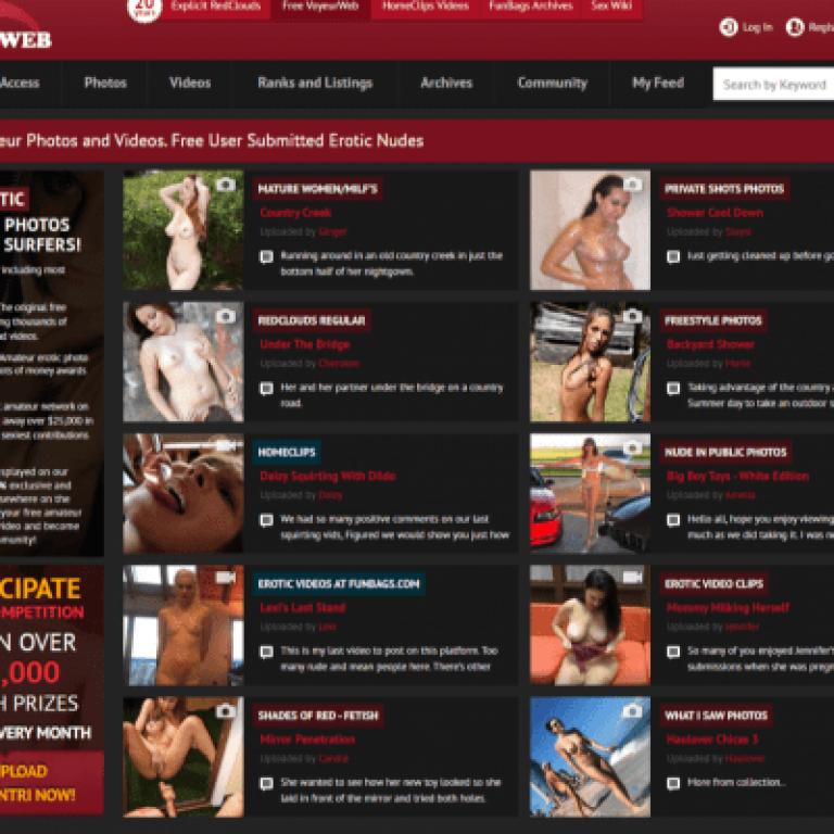 Voyeurweb - Amateur Porn Sites