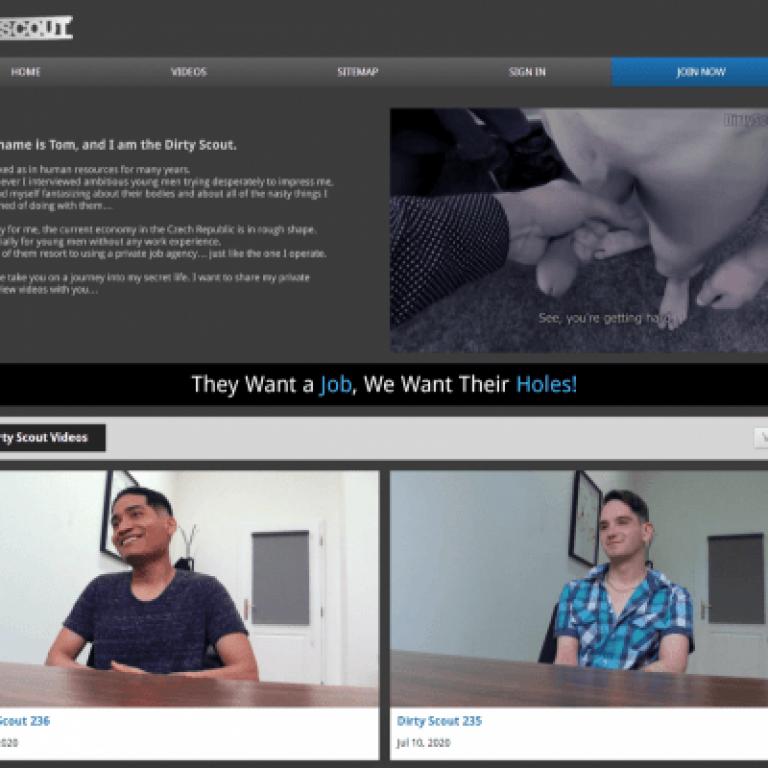 Dirtyscout - Premium Gay Porn Sites