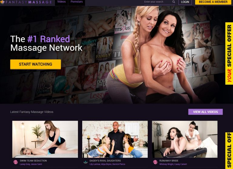 FantasyMassage - Premium Massage Sites
