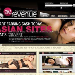 AV Revenue - all Porn Affiliate Network