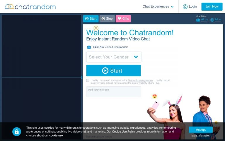 Chatrandom - all Sex Chat Sites