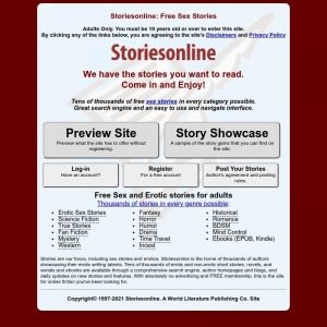 Storiesonline - all Sex Stories Sites