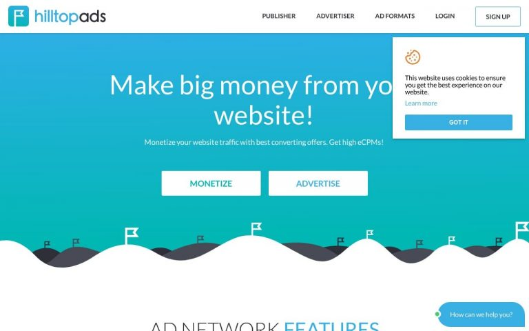 Hilltopads - all Adult AD Networks