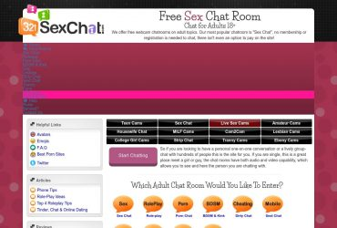321Sexchat - all Sex Chat Sites
