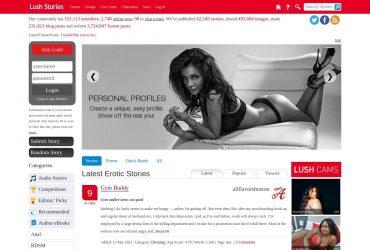 Lushstories - all Sex Stories Sites