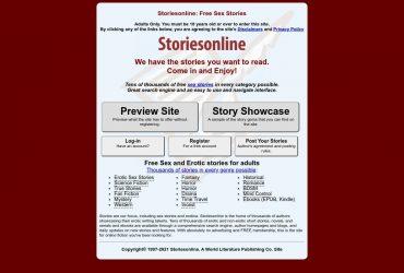 Storiesonline - all Sex Stories Sites