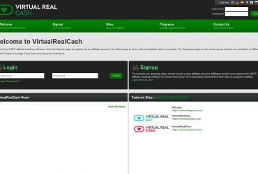 Virtual Real Cash - all Porn Affiliate Network